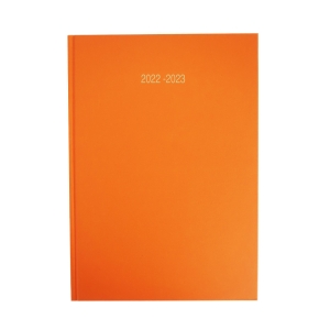 LYRECO ORANGE A5 ACADEMIC DIARY - WEEK TO VIEW