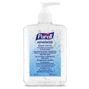 Purell 9268-12-EEU00 Advanced Hygienic Rub Pump Bottle 500ml