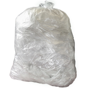 THE GREEN SACK CHSA 10KG CLEAR MEDIUM DUTY REFUSE SACK 29 X38  PACK OF 200