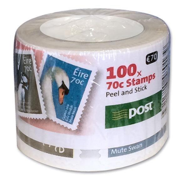 Postage Stamps €1 - Pack Of 100