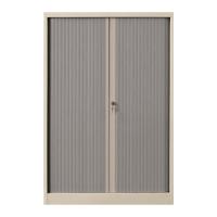 雙門膠閘捲門鋼櫃 高132 X 闊90 X 深45.7厘米