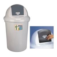 GEO90 有蓋廢紙桶90升