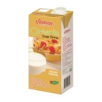 VITASOY CREAMY ORIGINAL ORGANIC SOYA MILK 1L