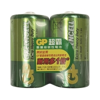 GP 超霸碳性電池 D - 2粒裝