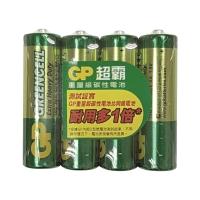 GP 超霸碳性電池 AA - 4粒裝