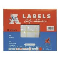M LABELS 221 白色標籤 38 X 76毫米 每包150個標籤