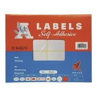 A LABELS #245 50 X 75毫米白色標籤 每包120個標籤