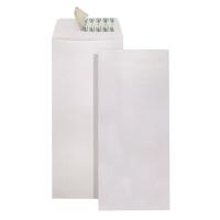 直向白色自粘貼信封9 x 4吋 - 每包20個
