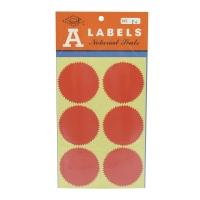 M LABELS 火漆標籤 24 直徑 54毫米 每包24個