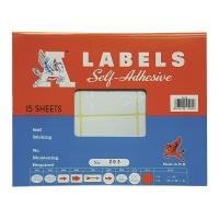 M LABELS 203 白色標籤 32 X 64毫米 每包180個標籤
