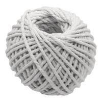 幼白色綿繩球401 - 綿繩直徑2毫米