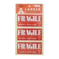 56 x 113 毫米 [易碎] 自動黏貼標籤 每包30個