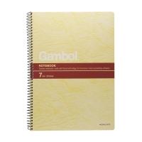 Gambol #S6807 B5 鐵圈筆記簿, 每本80張