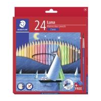 施德樓 帆船長身24色木顏色筆