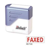 德士美 原子印 KE-F12A [FAXED] 粗體印章