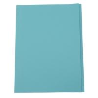 紙文件套 230磅 A4 藍色