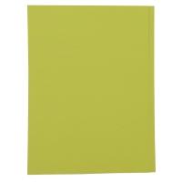 紙文件套 230磅 A4 黃色