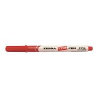 斑馬牌 油性記號筆 圓咀 1.0毫米 紅色