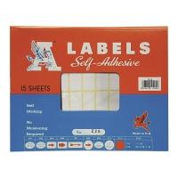 A LABELS #226 17 X 38毫米白色標籤 每包600個標籤
