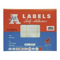 A LABELS #248 16 X 43毫米白色標籤 每包540個標籤
