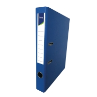 Lyreco 全包膠檔案夾 F4 2吋 藍色