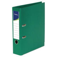 Lyreco 全包膠檔案夾 A4 3吋 綠色