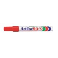 雅麗 油性箱頭筆 90平咀 2 - 5 毫米 紅色