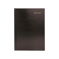 LUXE 51C DIARY 1D/P A5 BLK