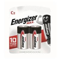 勁量 鹼性電池 C - 2粒裝