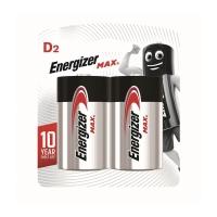 勁量 鹼性電池 D - 2粒裝