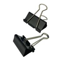 黑色回尾夾 1-5/8吋 每盒12個
