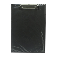 A4 黑色包膠雙板夾