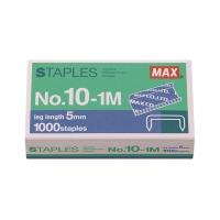 美克司No.10 (10-1M)釘書釘 每盒1000枚