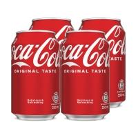 可口可樂330毫升 - 4罐裝