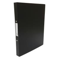 CBS A4 兩孔文件夾 25毫米 黑色