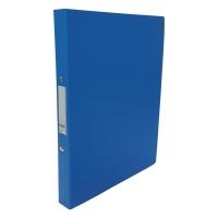 CBS A4 兩孔文件夾 25毫米 藍色
