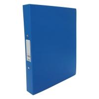 CBS A4 兩孔文件夾 36毫米 藍色