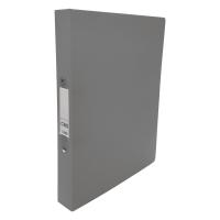 CBS A4 兩孔文件夾 36毫米 灰色