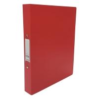 CBS A4 兩孔文件夾 36毫米 紅色