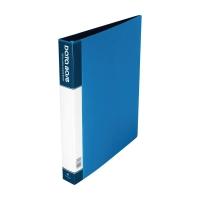 Data Base 可加活頁資料簿 A4 20頁 藍色