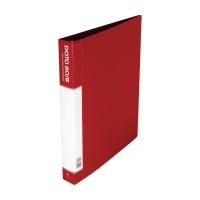 Data Base 可加活頁資料簿 A4 20頁 紅色