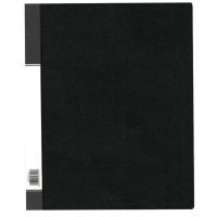 Data Base 可加活頁資料簿 A4 40頁 黑色