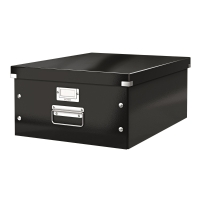 利市Click & Store 儲存盒 黑色 (適合存放A3文件)