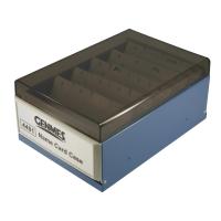 Genmes 名片盒 藍色 (可存放400 張名片)