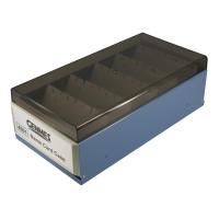Genmes 名片盒 藍色 (可存放600 張名片)
