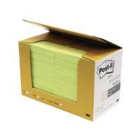 報事貼 654 黃色便條紙經濟裝 3吋 x 3吋 18本裝