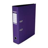 辦得事全包膠檔案夾 F4 3吋 淡紫色