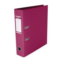 辦得事全包膠檔案夾 A4 3吋 粉紅色
