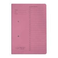 F4 紙皮彈簧快勞 300磅 粉紅色