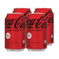 零系可口可樂330毫升 - 4罐裝